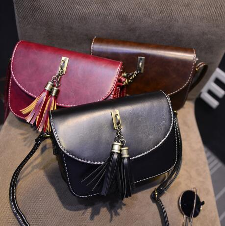 Envío libre 2018 Fran tui moda Satchel bolso 9 colores