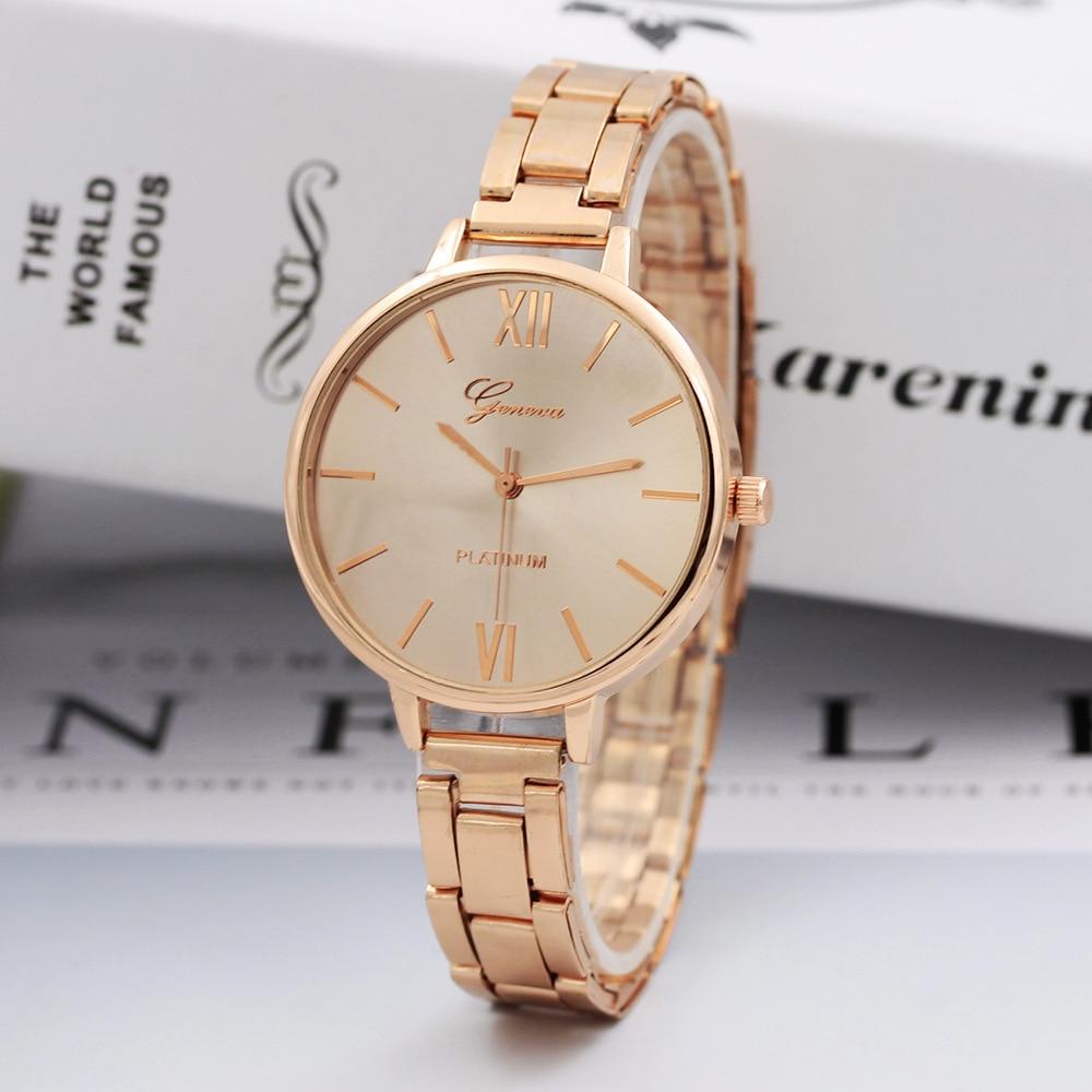 2019 Gold Sliver Mesh Stainless Steel Watches Women  Brand Luxury Female Casual Clock Ladies Wrist Watch 811