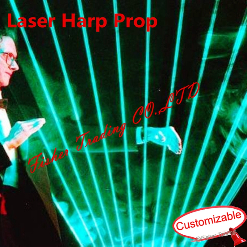 Real Life Room Escape Laser Harp Prop, Play The Harp To Open The Door, Mysterious Harp To Escape, Escape The Room Prop