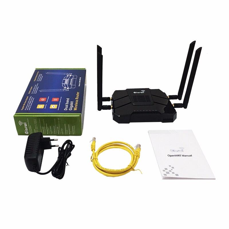 Routeur lte10/100/1000 mbps 11ac 4g carte sim routeur gigabit répéteur wi-fi 2.4g 5g support vpn pptp et l2tp longue portée wifi mesh - 6