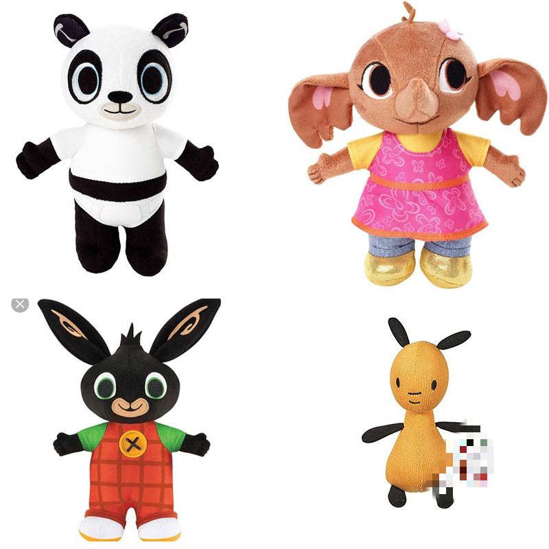 My Saves Bing: Plush Bing Bunny And Friend Of Bing Sula Toy Doll Standing