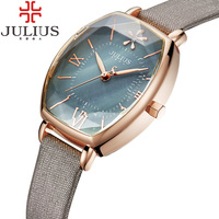 Unique Roman Numerals Ladies Watch Retro Leather Strap Casual Quartz Watch Fashion Wristwatches Clock Female Relogio