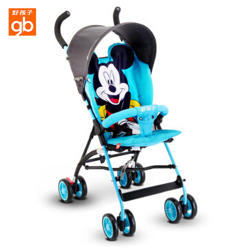 ФОТО Luxury Baby Stroller Folding Baby Carriage High Landscape Sit and Lie for Newborn Infant Four Wheels 6 Colors