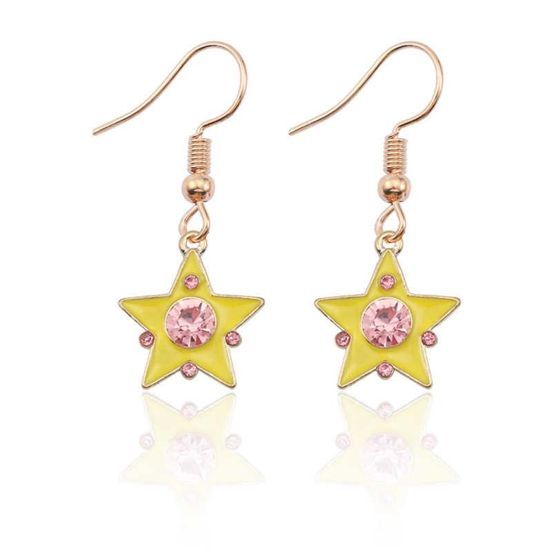 Cute Diy Sailor Moon Earrings For Women Anime Earring