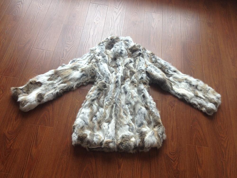 De Femme Long Outwear yellow 2018 grass Manteau Fourrure Naturel Pardessus Grass Réel Tdh147 Black Style Femmes Pour Lapin Veste Grey New nqgvHv86wt