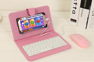 Pink with mouse