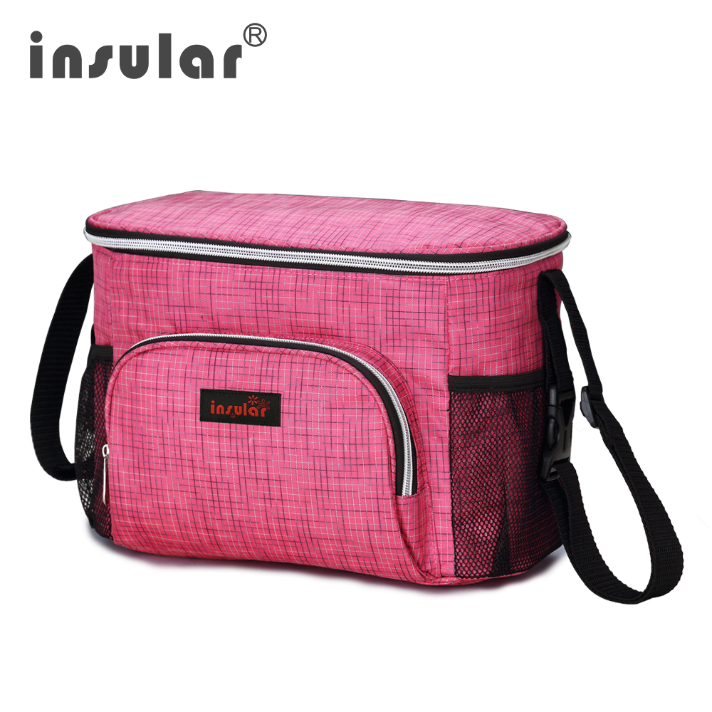 Baby Bag Maternal Insular Brand Thermal Insulation Diaper For Stroller Waterproof Nappy Changing Mother