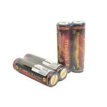 18pcs/lot TrustFire Protected 18650 Battery 3.7V 3000mAh By Camera Torch Flashlight Rechargeable Batteries with PCB