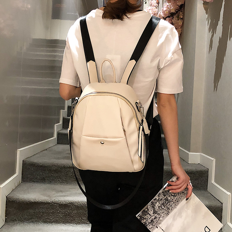 PU Leather Female Women School Bags Backpack For Teenagers Girls Small Shoulder Bags Sac A Dos Bagpack
