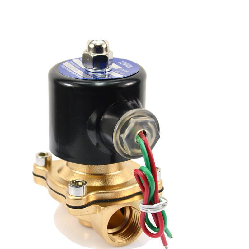 220v 24v 12v 1 1.2 Inch DN 25 32 mm Copper Normally Closed Solenoid Valve Water Valve220v 24v 12v 1 1.2 Inch DN 25 32 mm Copper Normally Closed Solenoid Valve Water Valve