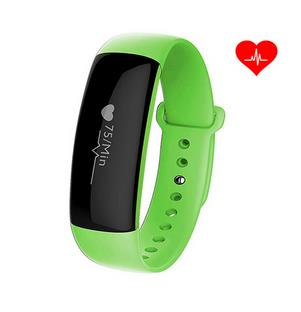 Smart Watch Bluetooth Heart Rate Blood Pressure Monitor Smart Bracelet Health Tracker IP67 Wristband For iOS