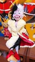 101 Dalmatians Villain Plush CRUELLA DE VIL Doll Plush Toys 50cm