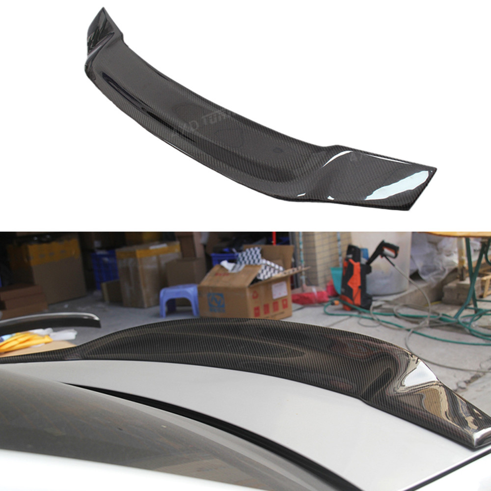 For Mercedes W204 Spoiler R Style Coupe C Class C180 C200 C250 C260 Carbon Fiber Rear Spoiler rear Trunk Wing 2-Doors 2008-2014 for audi a5 carbon rear spoiler s5 style carbon fiber rear spoiler rear trunk wing coupe 2 doors car 2013 2014 2015 2016 2017 on
