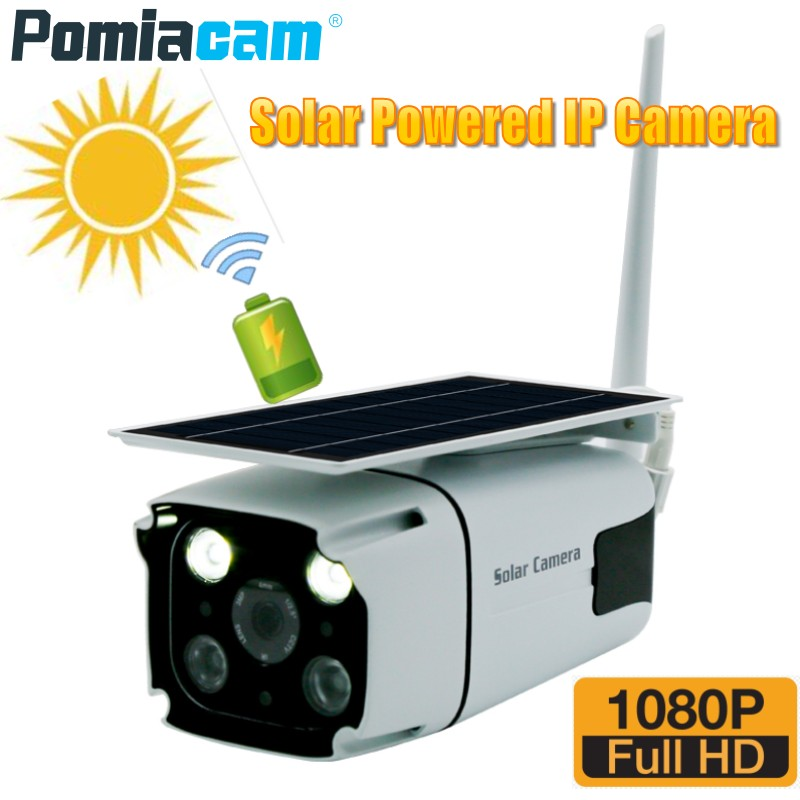 2019 Newest Solar Powered IP Camera 1080P Wireless Outdoor Indoor Security WiFi Camera with Built-in battery Motion Detection N82019 Newest Solar Powered IP Camera 1080P Wireless Outdoor Indoor Security WiFi Camera with Built-in battery Motion Detection N8
