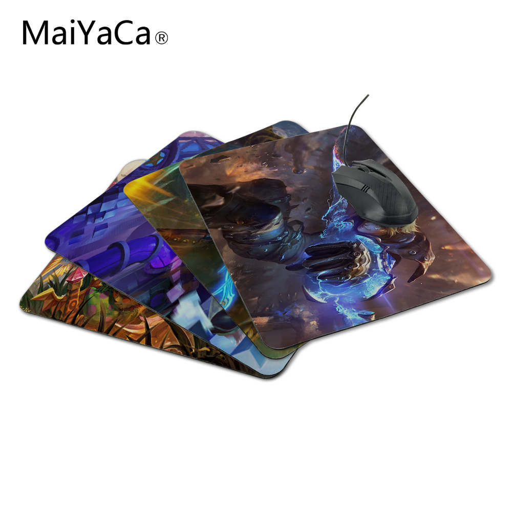 MaiYaCa Customized LoL Ezreal Luxury Print Game Design Gaming PC Anti-slip Laptop Mouse Mat for Optical/Trackball Mouse