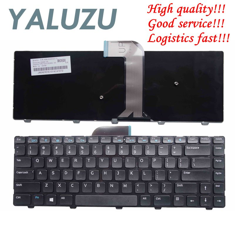 New For Dell Inspiron 14 14R 3421 5421 Vostro 2421 14 3437 14R 5437 15Z-5523 M431R MP-12F7 Keyboard US QWERTY English