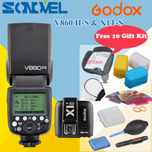 Godox V860II-S V860IIS TTL Speedlite Flash GN60 HSS 1/8000s Li-ion Battery+X1T-S Transmitter For Sony A7R A7S A6500 A6300 A6100