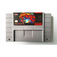 Super Nintendo SFC SNES Game Super Metroid Video Game Cartridge Console Card NTSC US English Version