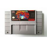 Super Nintendo SFC SNES Game Super Metroid Video Game Cartridge Console Card NTSC US English Version