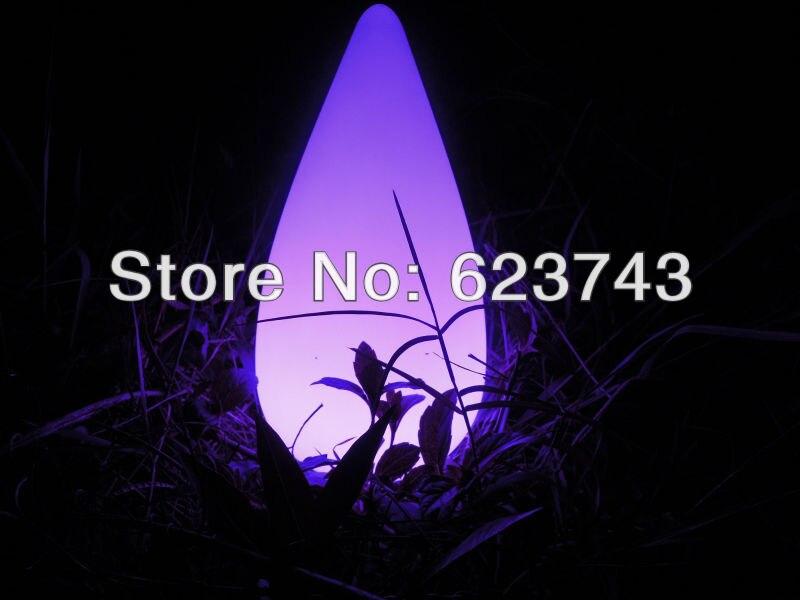 Бесплатная доставка 16 Цветов Красочный СВЕТОДИОДНЫЕ Конус лампы ударопрочный, перезаряжаемые привело Water Drop лампы водонепроницаемый Бассе…