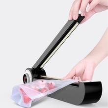 Ytk máquina de selagem manual de alimentos, 220v, máquina de selagem, impulso de pressão manual, selador de calor, máquina poly bag