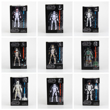 Star Wars The Black Series Sandtrooper Boba Fett Stormtrooper Clone Trooper PVC Action Figure Toy Collectible