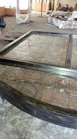 Szanghaj Chiny fabryka produkcji kute Żelazne drzwi wysokiej jakości eksport do USA, model hench-ad17