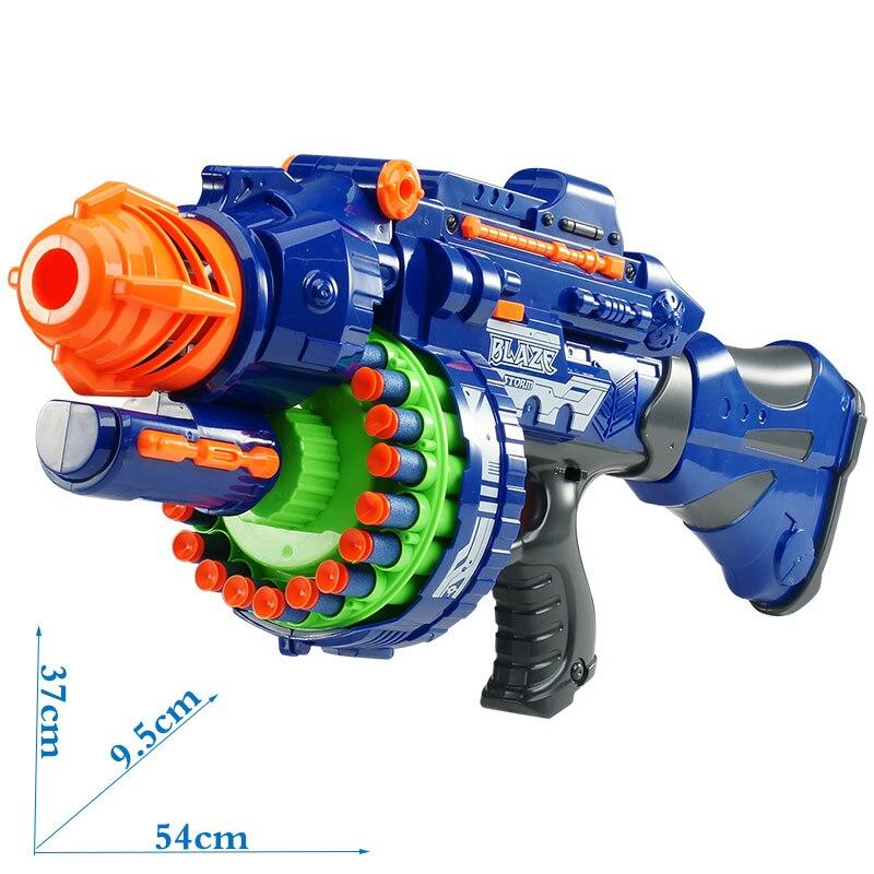 arma de brinquedo eletrico 20 explosoes para 01