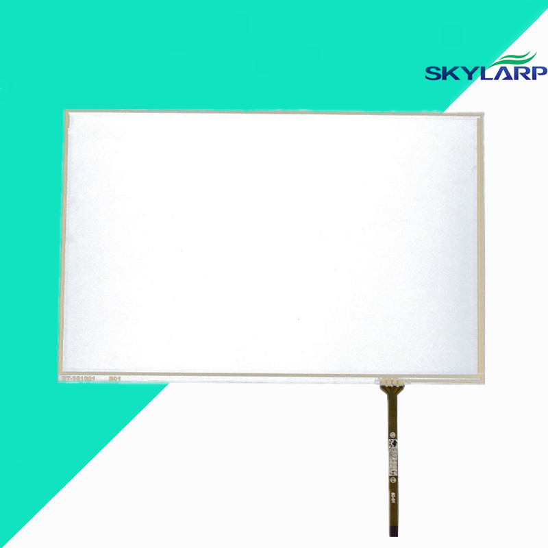 NEW 10.1inch 4 Wire Resistive Touch Screen Panel For B101UAN02.1 16:10 IPS LED Panel Screen touch panel Glass Free shipping new original 10 4 inch 4 wire touch screen glass n010 0554 t351
