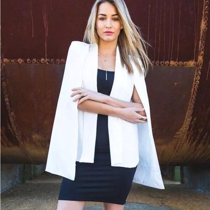 2017 venta caliente de las mujeres vintage cuello chal manto manga dividida nuev
