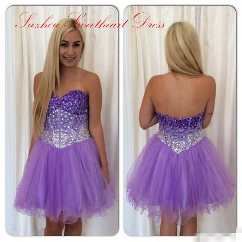 Online Get Cheap Cheap Purple Homecoming Dresses -Aliexpress.com ...