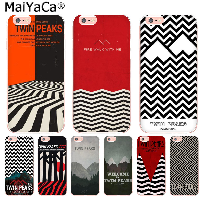 MaiYaCa Welcome Twin Peaks High Quality phone Accessories cover for Apple iPhone 8 7 6 6S Plus X 5 5S SE 5C 4 4S Mobile Cover