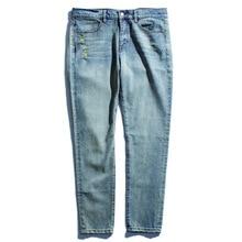 Fashion Men Jeans Summer Ripped Jeans Mens Pants Fit Motor Biker Jeans Men Designer Trousers fashion style white pants