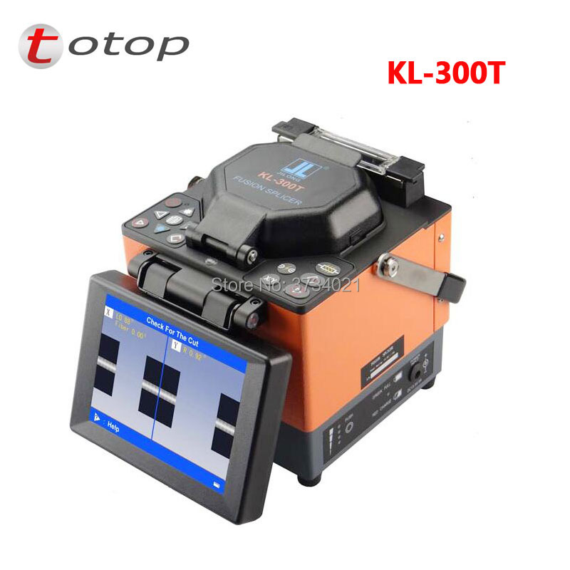 Brand New Jilong Fiber Optic Splicing Machine KL-300T Single Fiber Fusion SplicerBrand New Jilong Fiber Optic Splicing Machine KL-300T Single Fiber Fusion Splicer