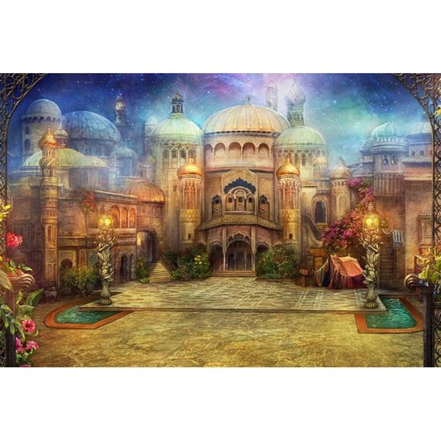 Neue 3d Diy Diamant Malerei Haus Russische Burg Kits Für Stickerei
