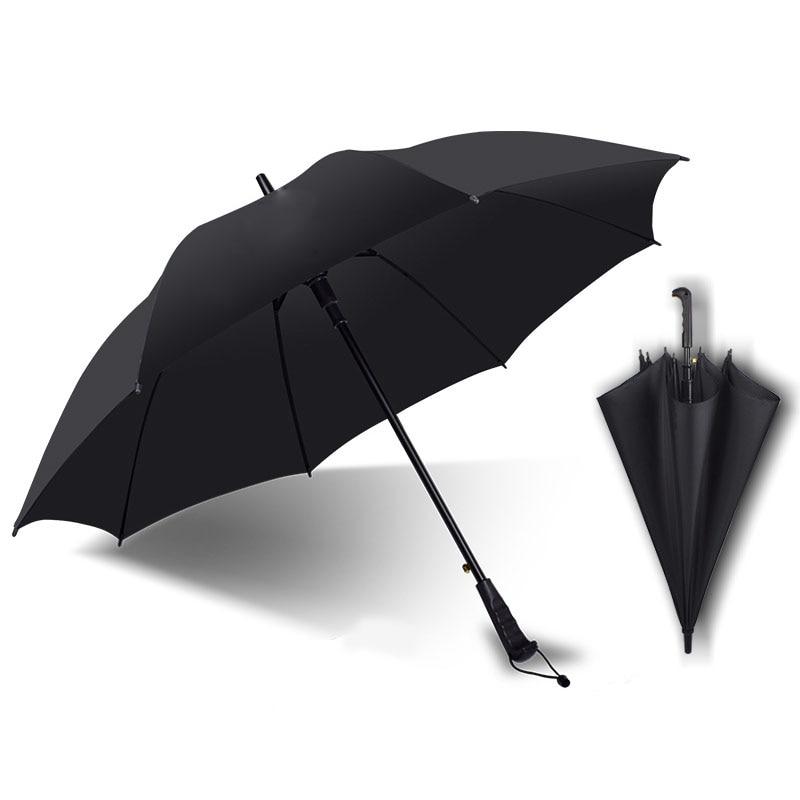 golf umbrella men strong windproof Semi automatic long large man and womens Business umbrellas
