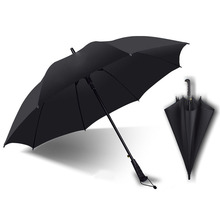 golf umbrella men strong windproof Semi automatic long large man and womens Business umbrellas