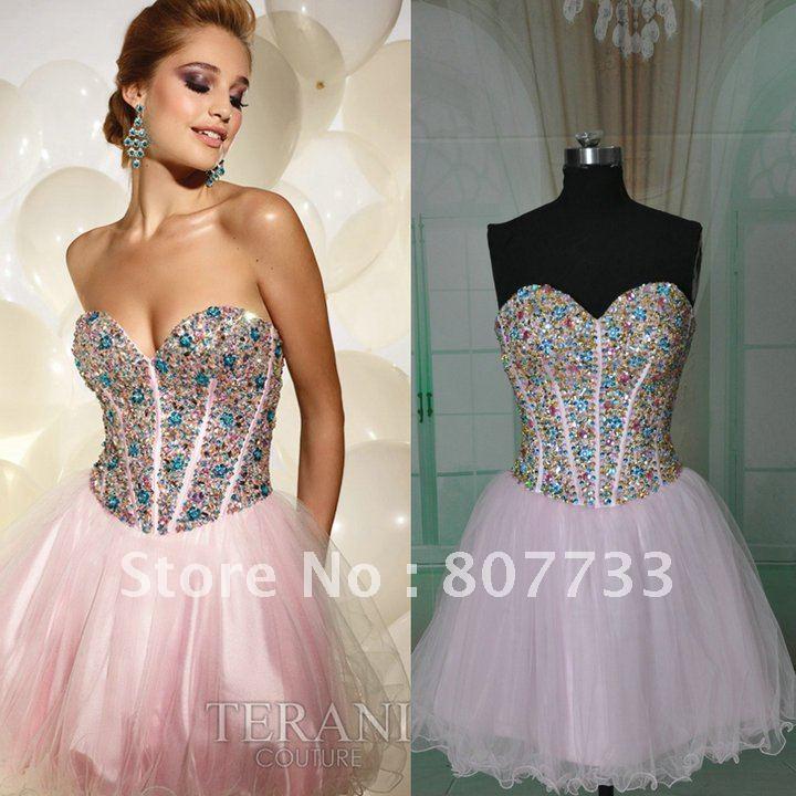 Aliexpress.com : Buy Real photos heavy beaded puffy skirt ladies ...