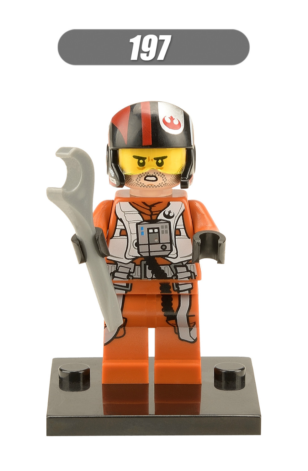 XH 197 Building Blocks Super Heroes Avengers Star Wars 7 The Force Awakens Pilot Poe Dameron Han Solo Bircks Toys For Children lecgos building blocks super heroes star wars x wing fighter millennium falcon the force awakens compatible with lecgos