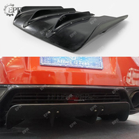 For Nissan GTR R35 FRP Fiber Glass LB Style Rear Diffuser R35 Tuning Trim Accessories For R35 GTR Fiberglass Bottom Under Panel