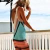 2018 New Beach Cover-Up Bikini Crochet Knit Swimwear Summer Beach Clothing Hollow Swimsuit Cover Up Beach Wear Clothes 1