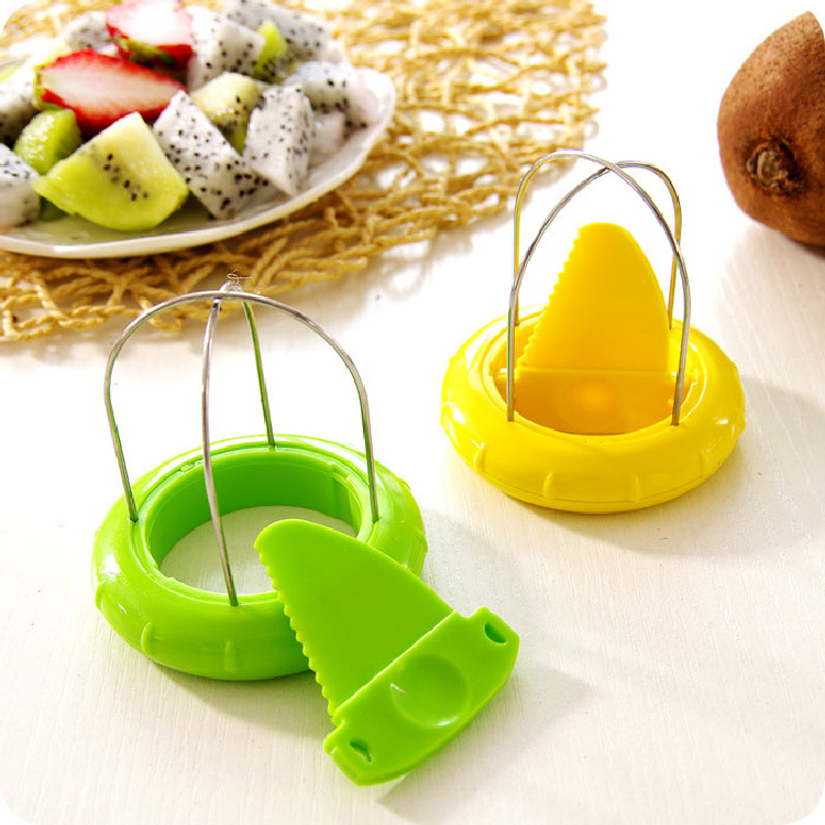 Hot Sale Mini Fruit Kiwi Cutter Peeler Slicer Kitchen Gadgets Tools Kiwi Peeling Tools for Pitaya Green Kitchen Gadgets Slicer in Peelers Zesters from Home Garden