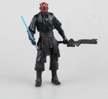 Star Wars Action Figure Darth Vader Stormtrooper Darth Maul Yoda Skywalker Toys 8-19cm 10pcs/set