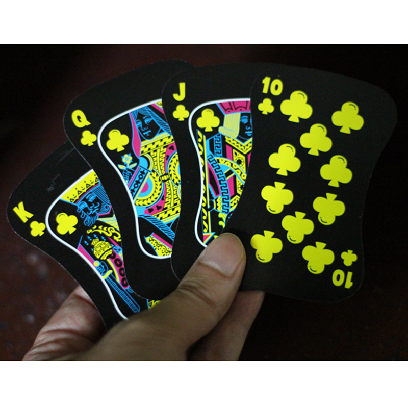 Creative Luminous Nights Watch Poker Luminous Playing Cards Fluorescence Bar Nightclub Night Watch Poker Cards