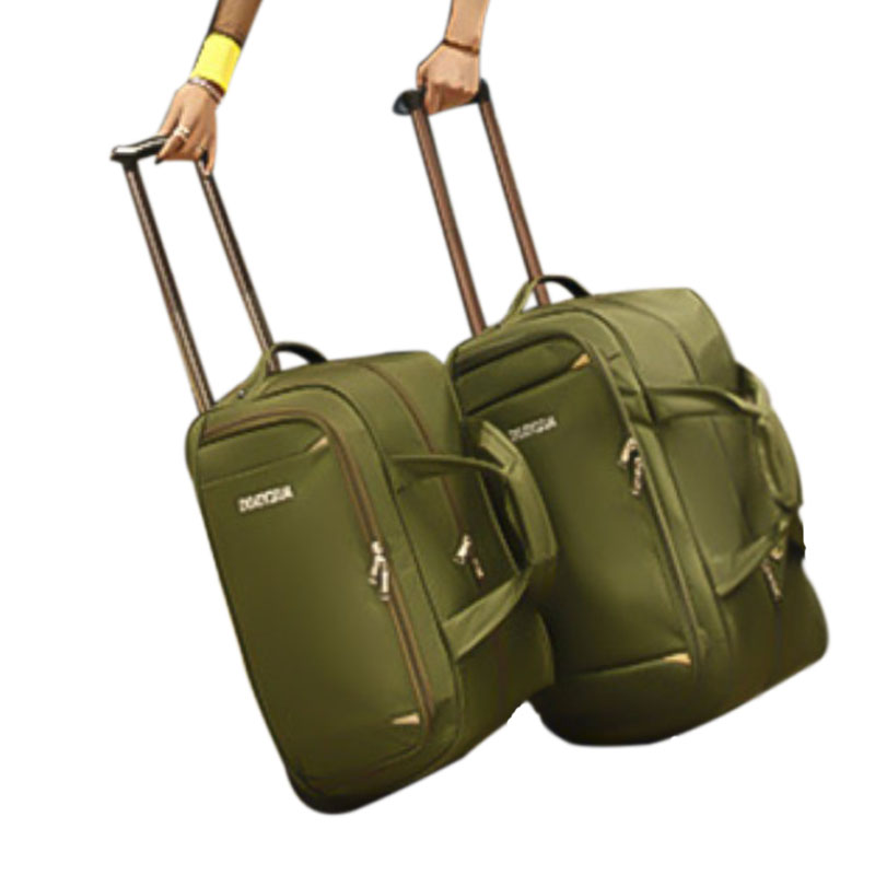 New Waterproof Hand Luggage travel Bag Thick Style Rolling Suitcase Trolley Luggage Women Men Travel Bags