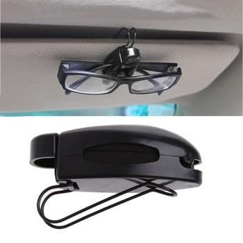 Uniwersalny wysokiej jakości 1 Pc samochodowa osłona przeciwsłoneczna zacisk mocujący do okularów do czytania okulary do okularów akcesoria samochodowe tanie i dobre opinie wupp 7 5cm plastic other 2 5cm China 2 8cm