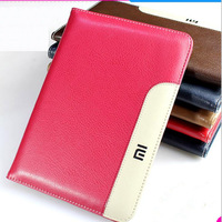 High Quality Leather Cover For Xiaomi MiPad 1 2 3 Case Shockproof Drop Dust Business Flat Protective For Xiaomi Mi Pad Cover