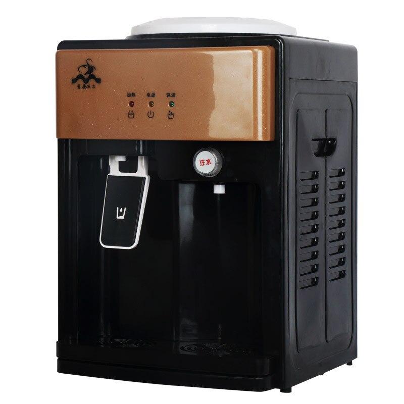 цена Desktop Drinking Water Dispenser Electric Boiling Water Machine Mini Water Heater with Door Drip Tray Limescale Filter Tea Bar в интернет-магазинах