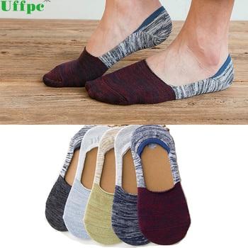 10pairslot Men's Sock Slippers Shallow mouth Non-slip Invisible Socks Short Boat Socks Summer cotton Slip Male Ankle Socks