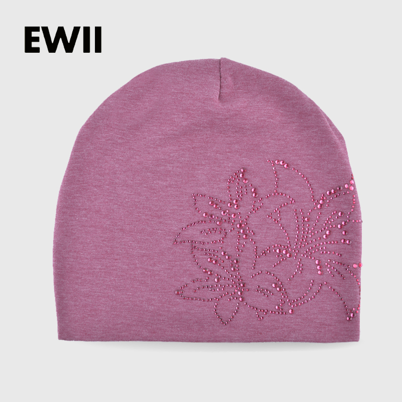 2017 Beanies font b skullies b font woman autumn and winter cap girl knitted hats for